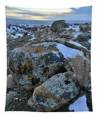 Kaleidoscope Of Color In Book Cliffs Boulders Tapestry