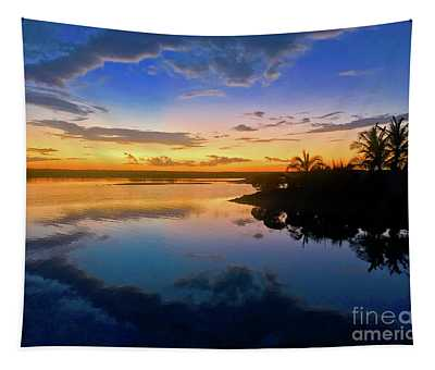 Kamalame Sunset Tapestry
