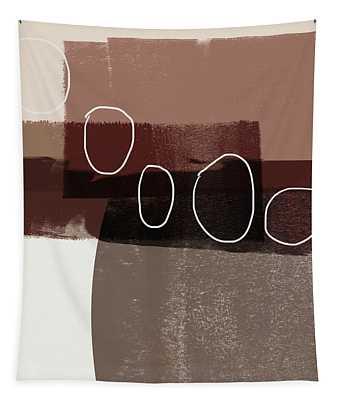 Karamel 3- Art By Linda Woods Tapestry