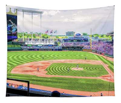 Kauffman Stadium Wall Tapestries