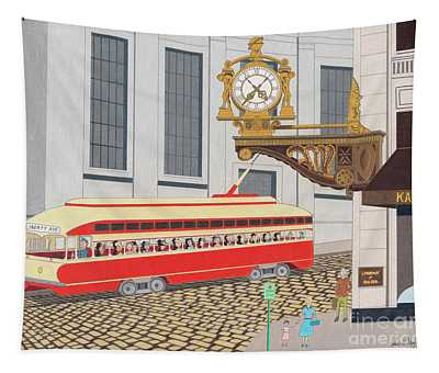 Kaufmann Clock Tapestry