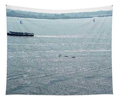 Kayaking On The Hudson Tapestry