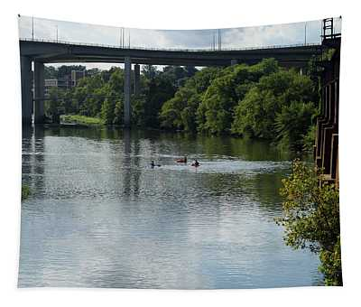 Kayaking On The James River Tapestry
