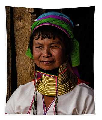 Kayan Woman Tapestry