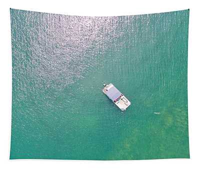 Keuka Lake Boating Tapestry