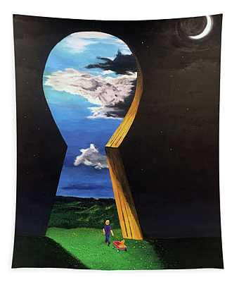 Key To Success Tapestry