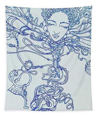 Keys To The Garden Tapestry