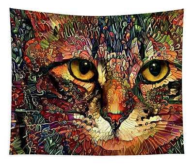 Kiki Golden Eyes Tapestry