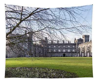 Kilkenny Castle Ireland And Tree Tapestry