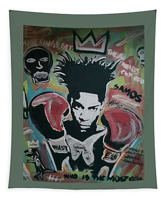 King Basquiat Tapestry
