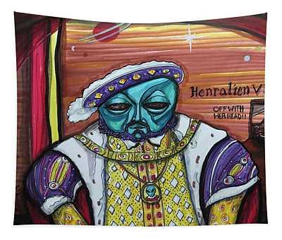 King Henralien Viii Tapestry