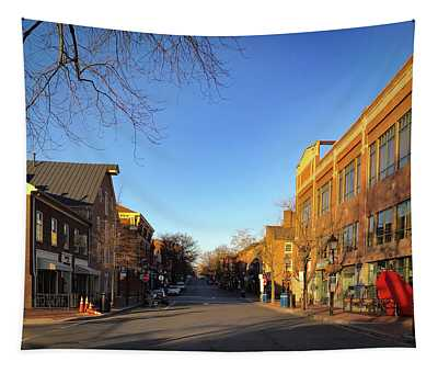 King Street Sunrise Tapestry