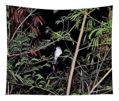 Kingbird At Night Tapestry