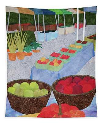 Kings Yard Farmers Market Tapestry