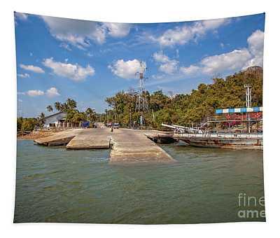 Ko Lanta Ferry Thailand Tapestry