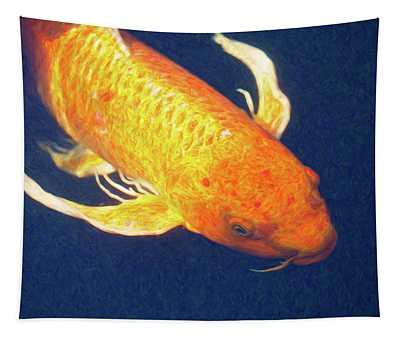 Koi Pond Fish - Liquid Delight - By Omaste Witkowski Tapestry