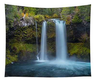 Koosah Falls, Autumn  Tapestry
