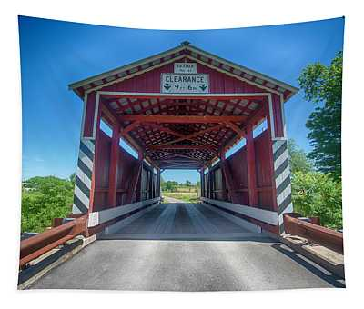 Kramer Covered Bridge Tapestry
