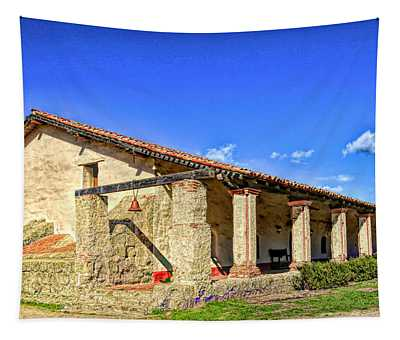 La Purisima Mission Bell  Tapestry