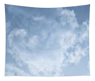 Tapestry featuring the photograph Lace Agate Sky by Judy Kennedy
