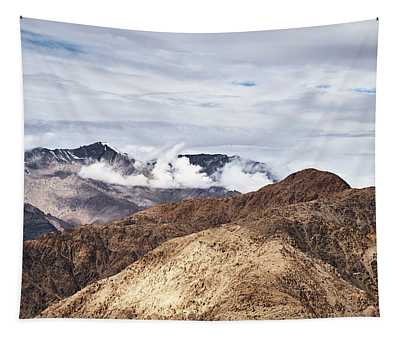 Tapestry featuring the photograph Ladakh Peaks by Whitney Goodey