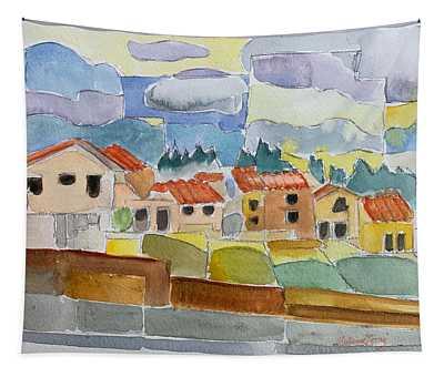 Laguna Del Sol Houses Design  Tapestry