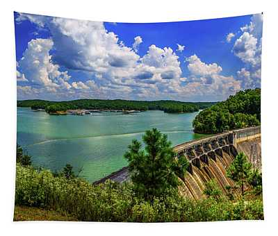 Lake Allatoona Dam Tapestry