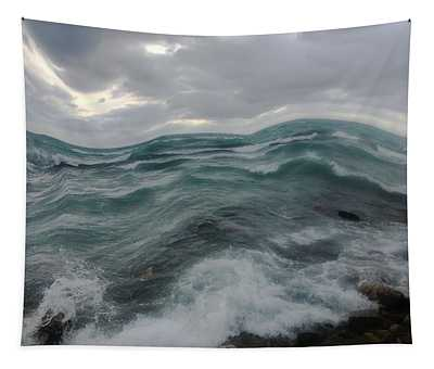 Lake Home Tapestry