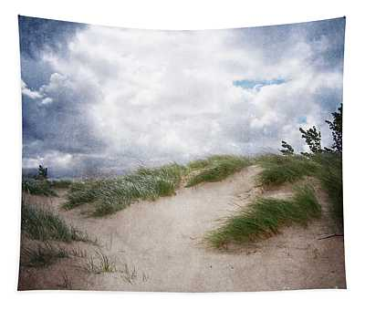 Lake Michigan Sand Dunes Tapestry