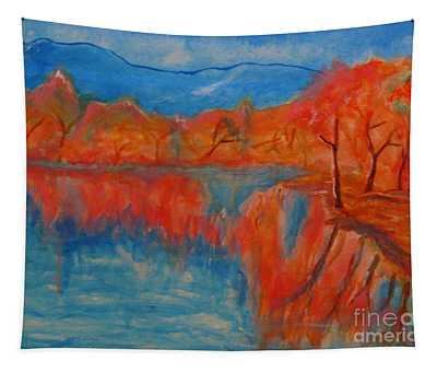Lake Mirror Tapestry