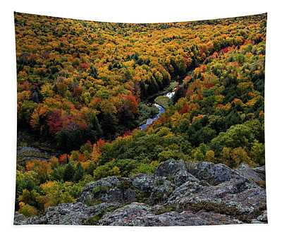 Lake Of The Clouds 7 Tapestry