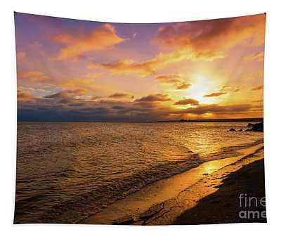 Lake Ontario Colorful Dawn Tapestry