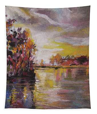 Lake Reflections Tapestry