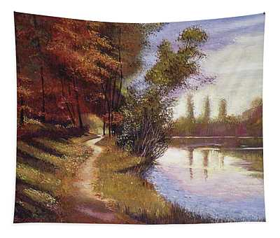 Lakeside Colors Provence Tapestry
