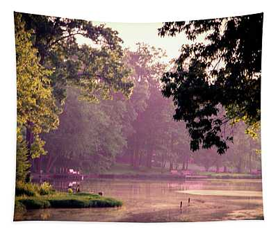 Lakeside Dawn Tapestry