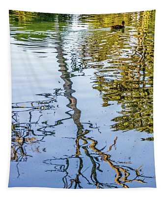 Lakeside Reflections II Tapestry