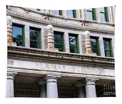 Lamar Building - Augusta Ga Tapestry