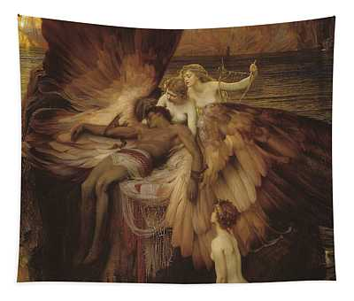 Lament Of Icarus Tapestry