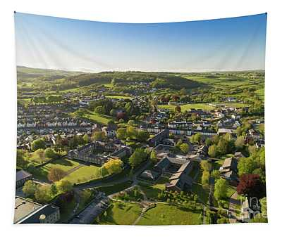 Lampeter From The Air Tapestry