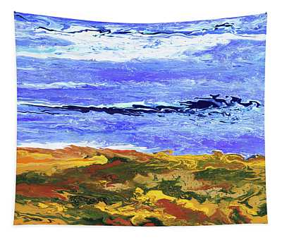 Land Meets Sea Tapestry