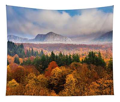 Land Of Illusion Tapestry