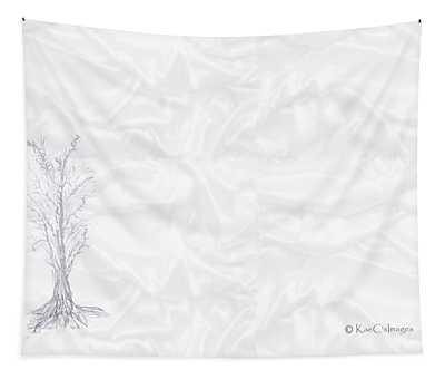 Landscape In White Tapestry