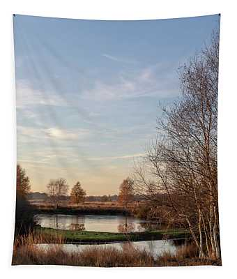 Tapestry featuring the photograph Landscape Scenery by Anjo Ten Kate