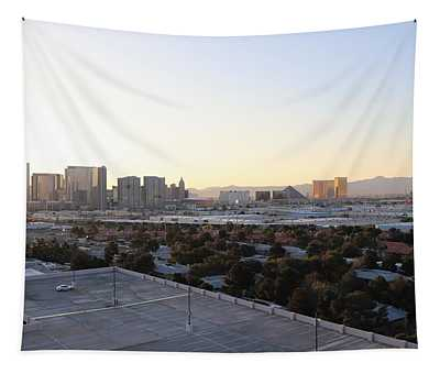 Las Vegas By Day Tapestry
