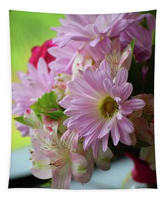 Tapestry featuring the photograph Lavender Gerbera by Patti Whitten