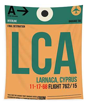 Lca Cyprus Luggage Tag I Tapestry