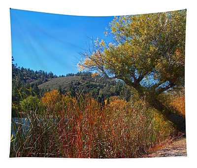 Leaning In - Jackson Lake Tapestry