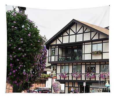 Tapestry featuring the photograph Leavenworth, Wa by Mae Wertz