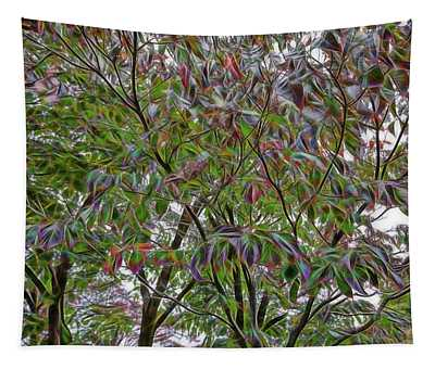 Leaves Full Of Color Tapestry
