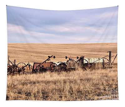 Left On The Prairie Tapestry